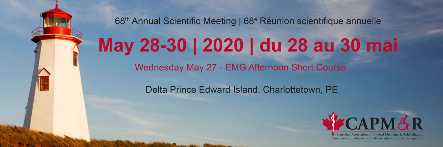 CAPM&R 68th Annual Scientific Meeting